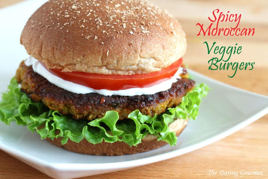 moroccan veggie burger recipe