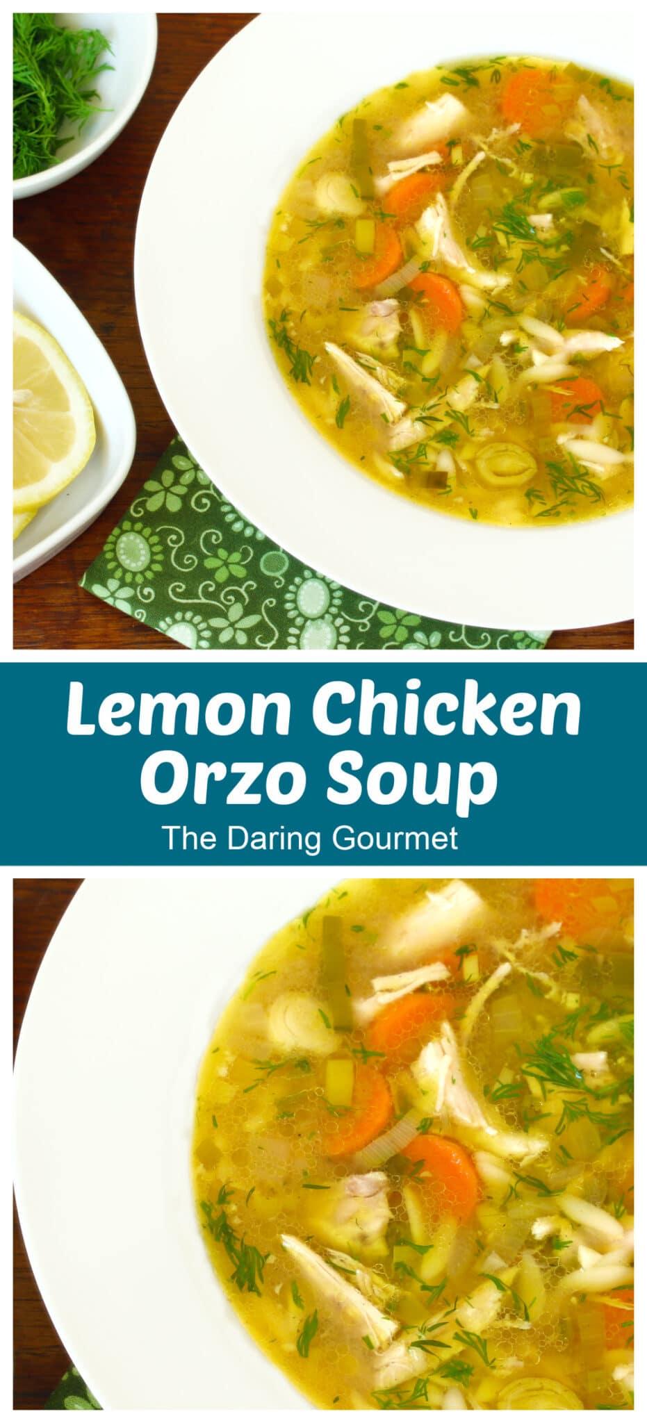 chicken orzo soup recipe lemon slow cooker easy healthy best