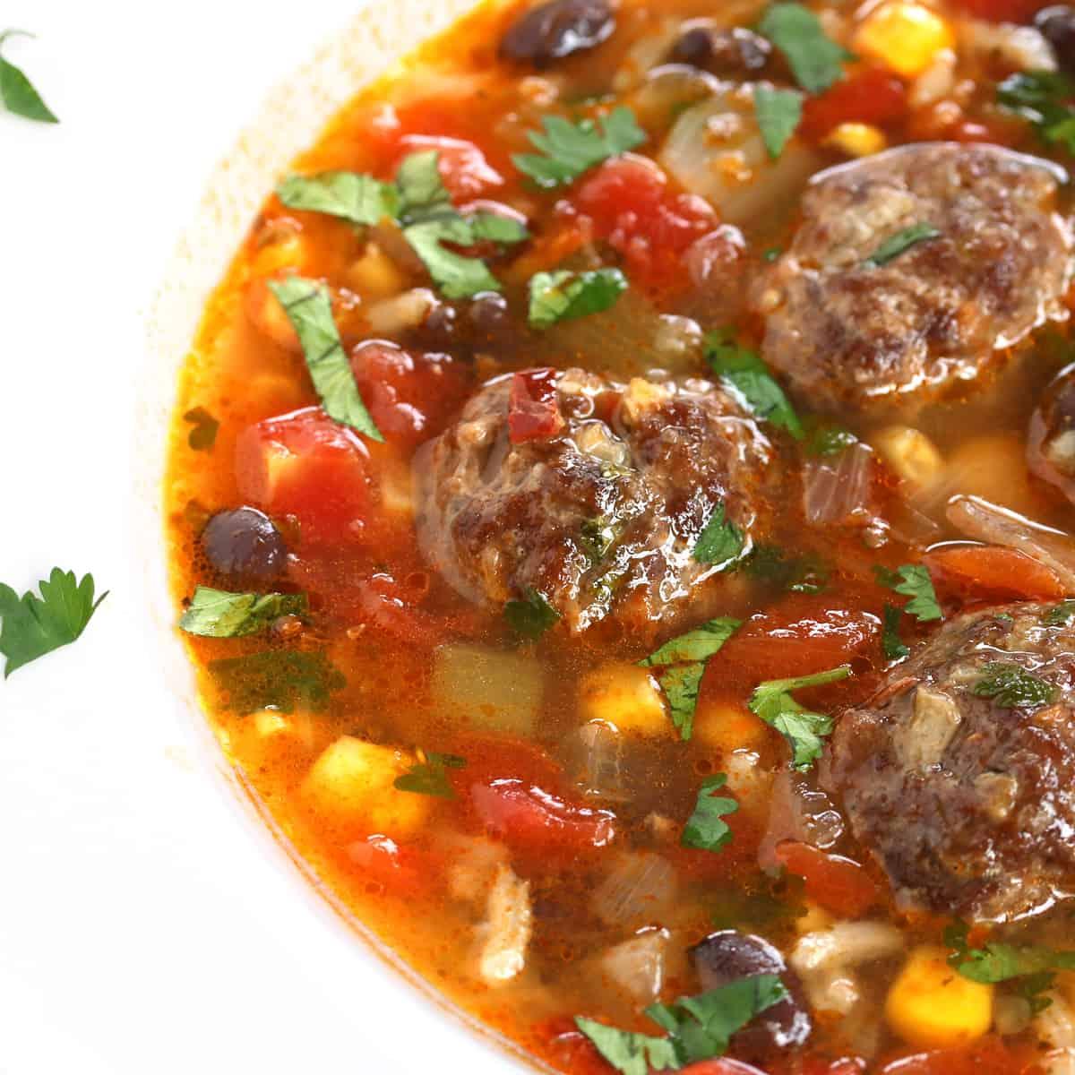 albondigas soup recipe mexican meatball