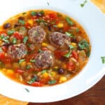 albondigas soup recipe mexican meatball