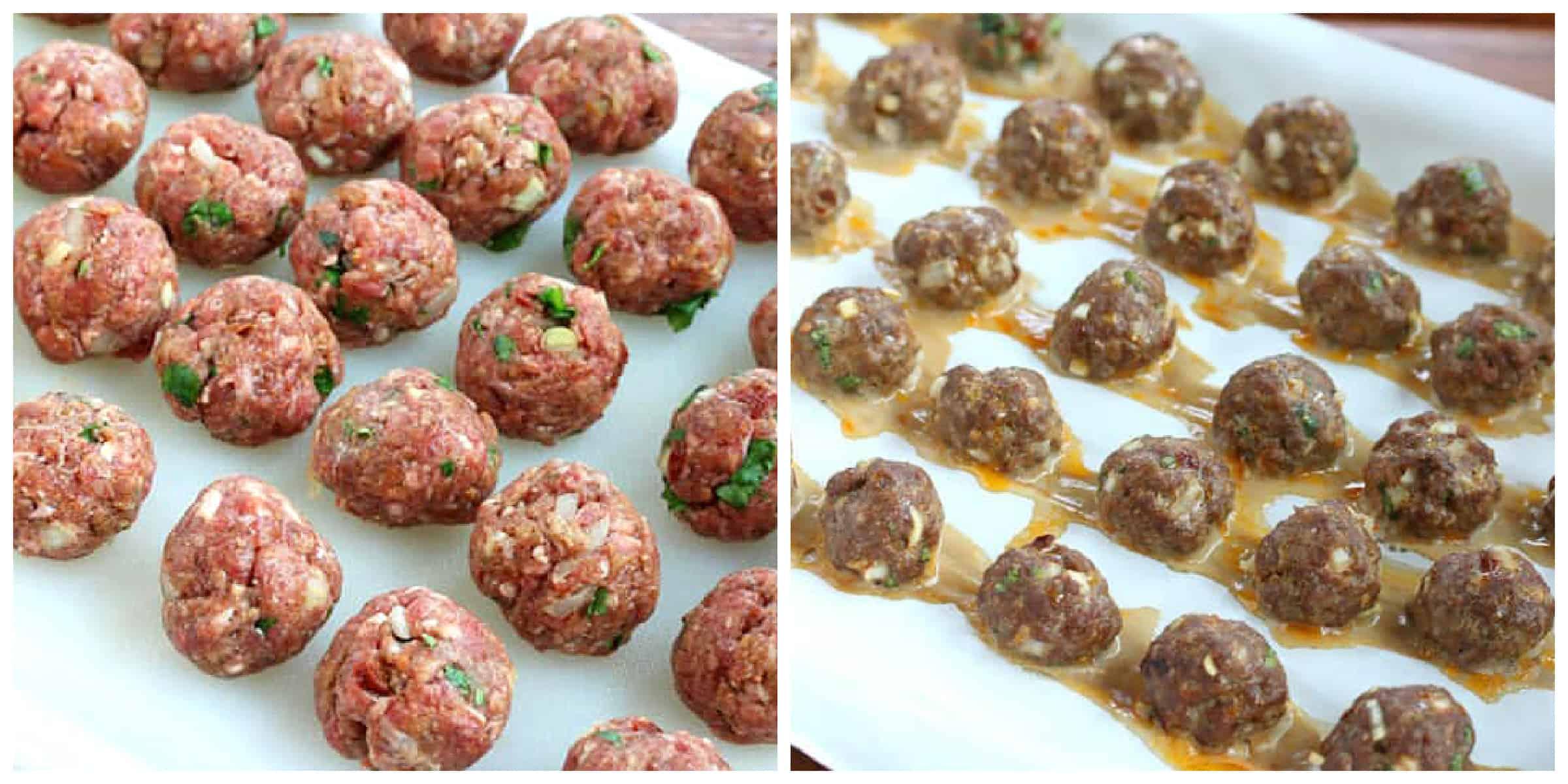 baking meatballs in oven