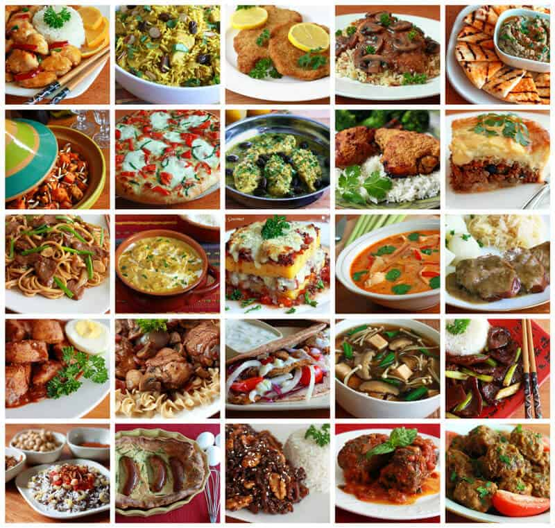 International-Food-Collage-