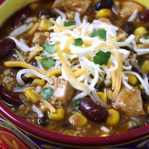 Chicken & Couscous Chili