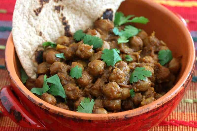 roasted chickpea curry recipe garbanzo beans vegetarian vegan gluten free