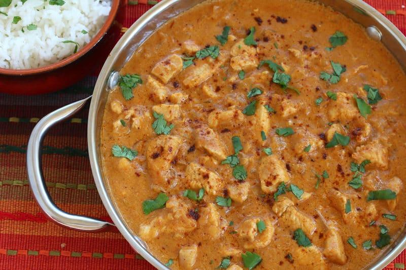 Indonesian Chili Peanut Coconut Chicken recipe