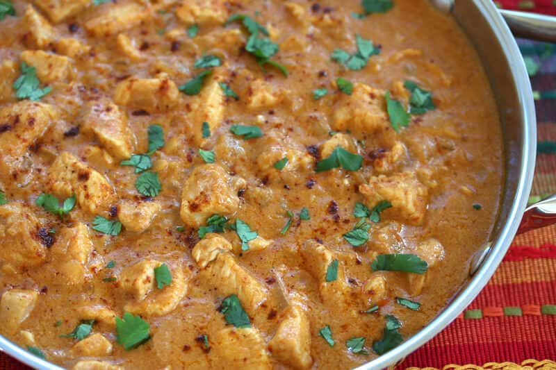 Indonesian Chili Peanut Coconut Chicken recipe