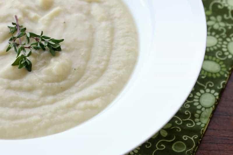 Cream of Jerusalem Artichoke Leek Potato Soup