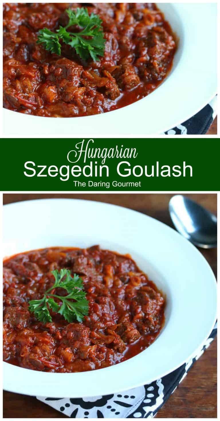 szegedin goulash recipe hungarian pork sauerkraut