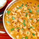 Thai peanut chicken recipe coconut milk Asian mild sweet cilantro spicy