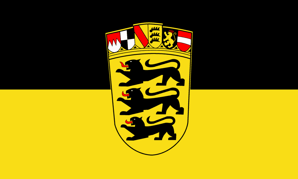 The flag of Baden-Württemberg