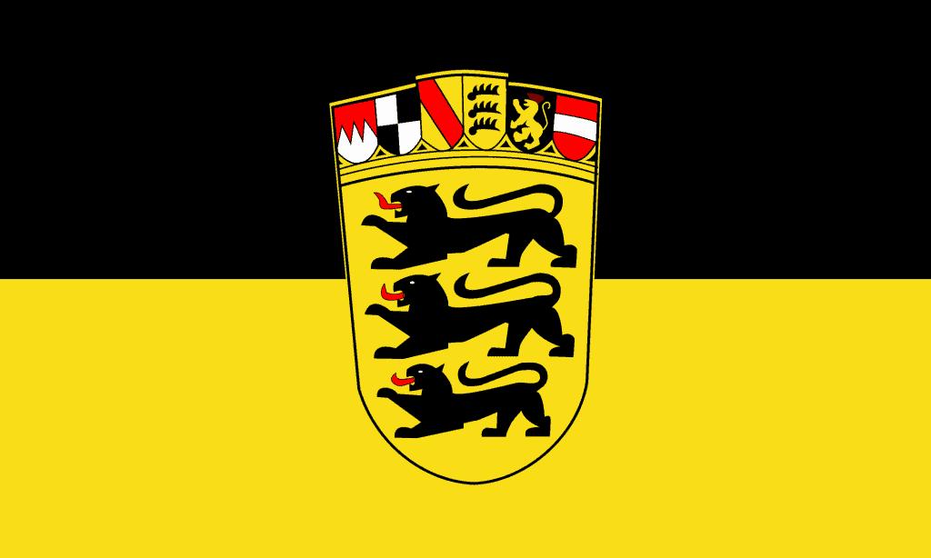 The flag of Baden-Württemberg
