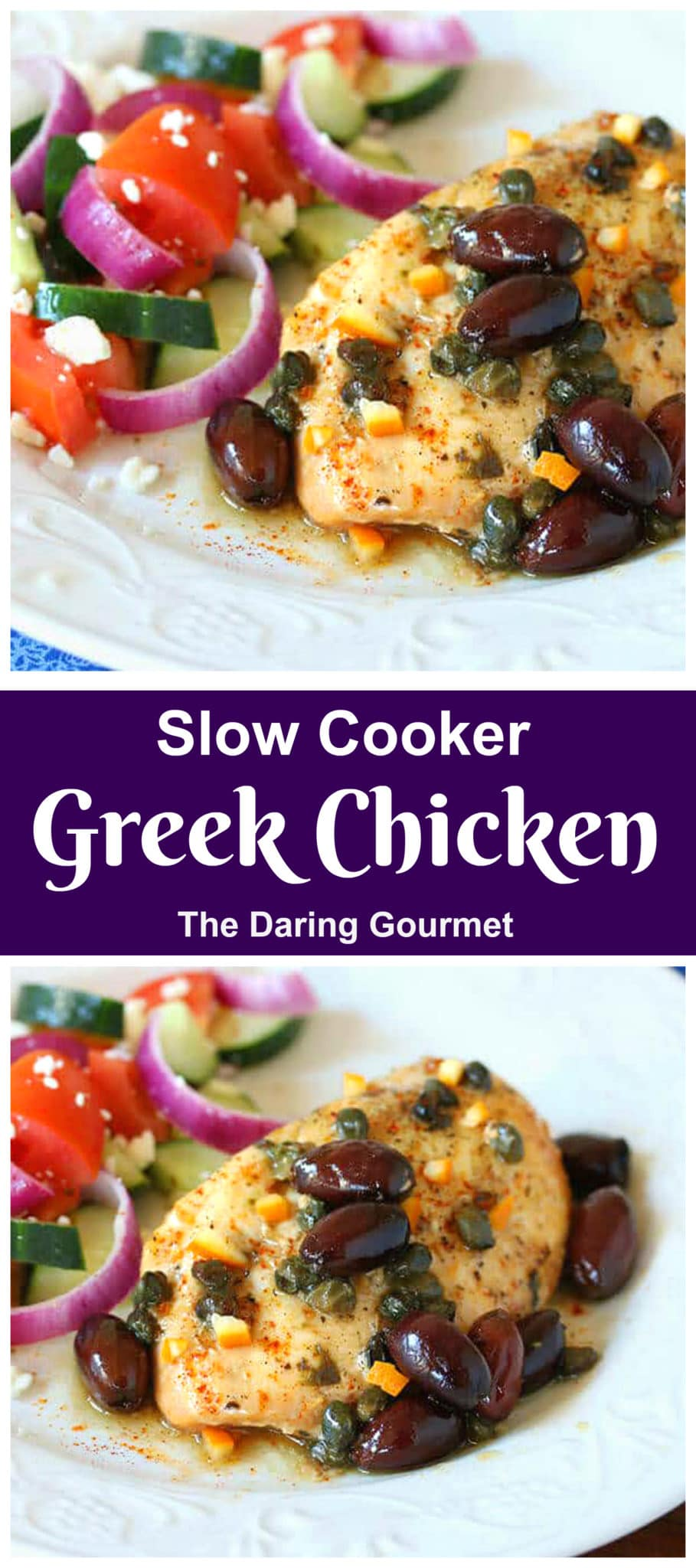 greek chicken recipe slow cooker crock pot easy