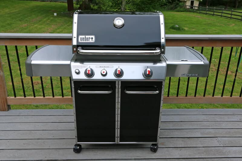 locomotion barbecue sauce weber genesis ep 330 gas grill. Black Bedroom Furniture Sets. Home Design Ideas