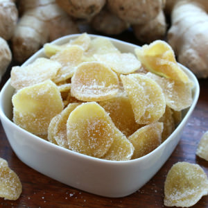 How To Make Crystallized (Candied) Ginger