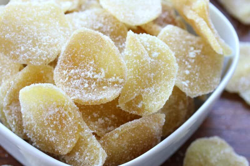 how to make homemade crystallized ginger recipe candied