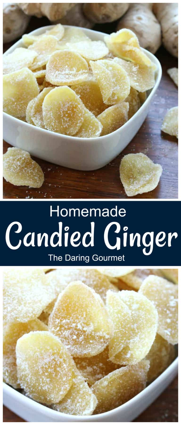 candied ginger recipe easy best homemade crystallized
