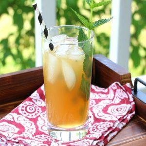 apple peppermint iced tea recipe no sugar honey