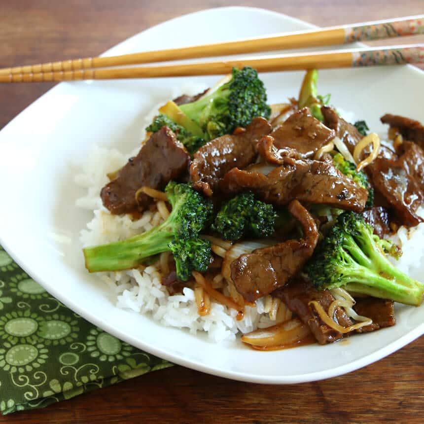 Best Chinese Beef And Broccoli The Daring Gourmet