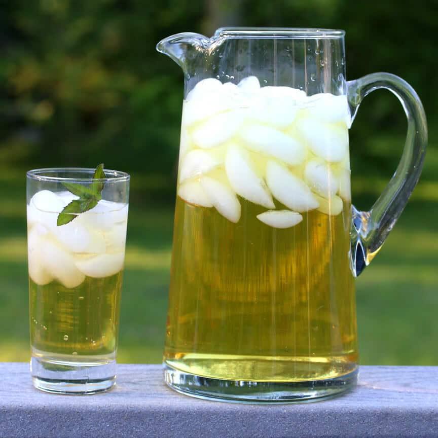 iced apple peppermint tea recipe