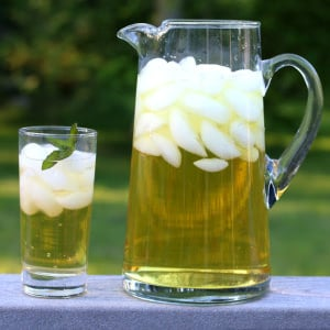iced apple peppermint tea recipe