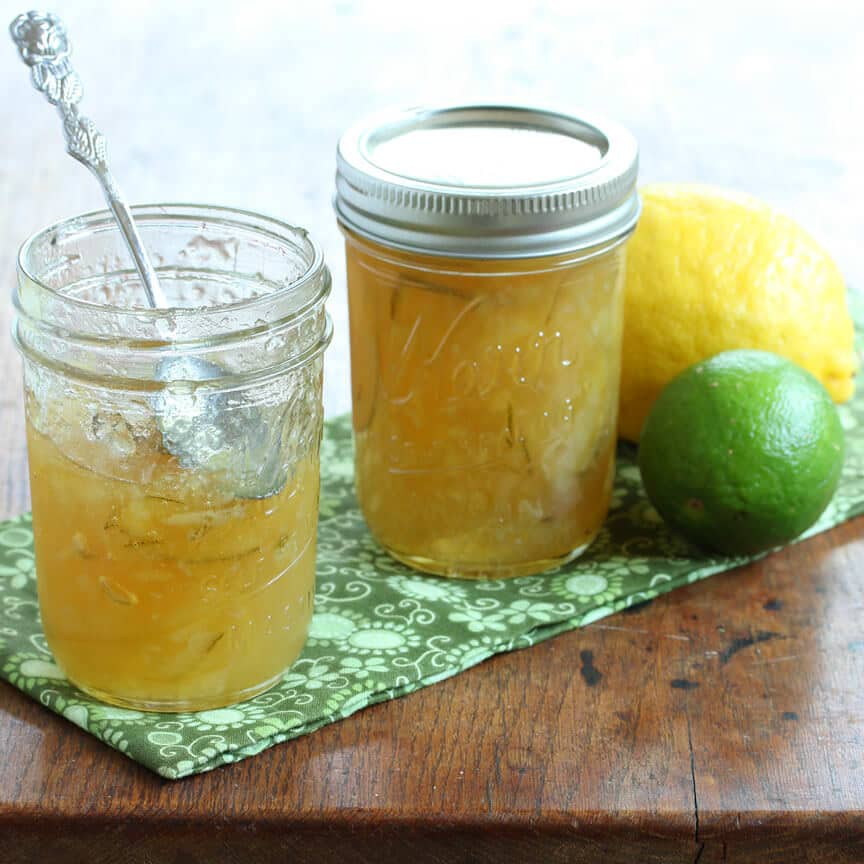 homemade lemon lime marmalade the daring gourmet