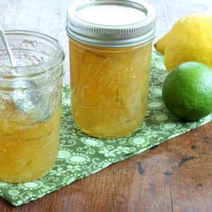 how to make homemade lemon lime marmalade jam recipe