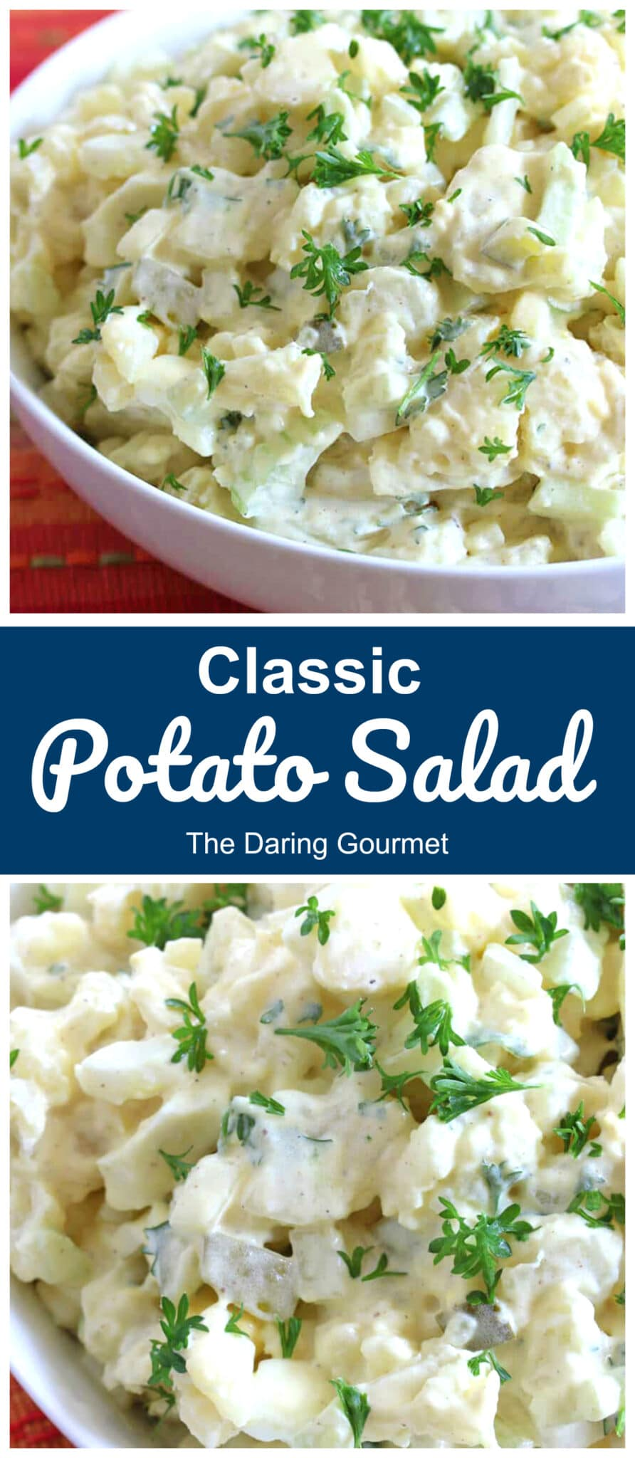 potato salad recipe best homemade classic creamy pickles eggs mayonnaise