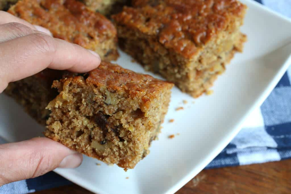 millet cake recipe spelt nuts walnuts figs candied ginger spelt lemon honey olive oil