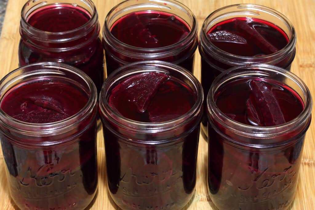 homemade pickled beets recipe canning preserving