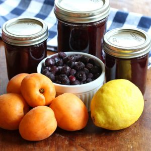 Blueberry Lemon Apricot Jam