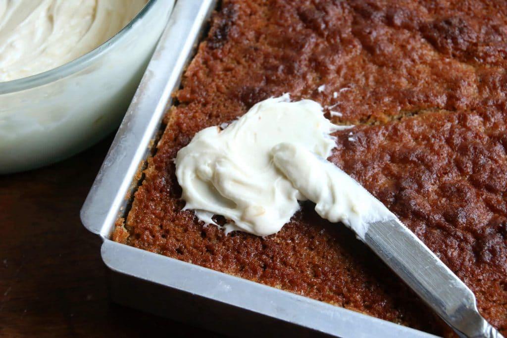 lemon lime zucchini cake recipe cream cheese frosting spelt whole wheat whole grain