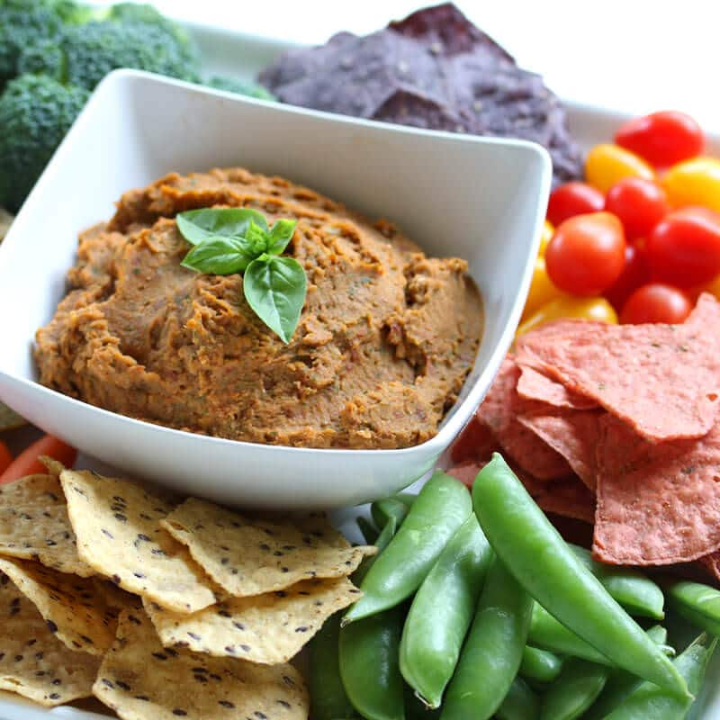 white bean sun dried tomato pesto dip recipe