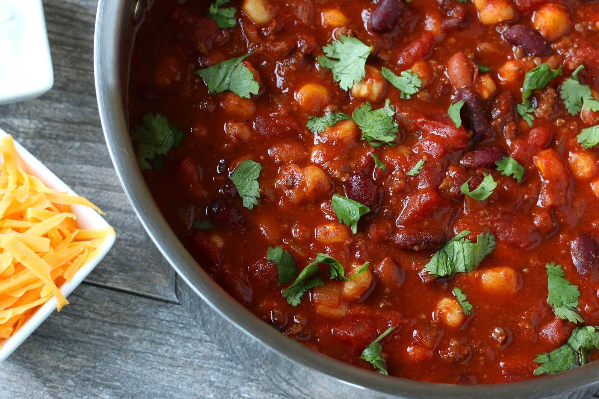 spicy chipotle chili with hominy