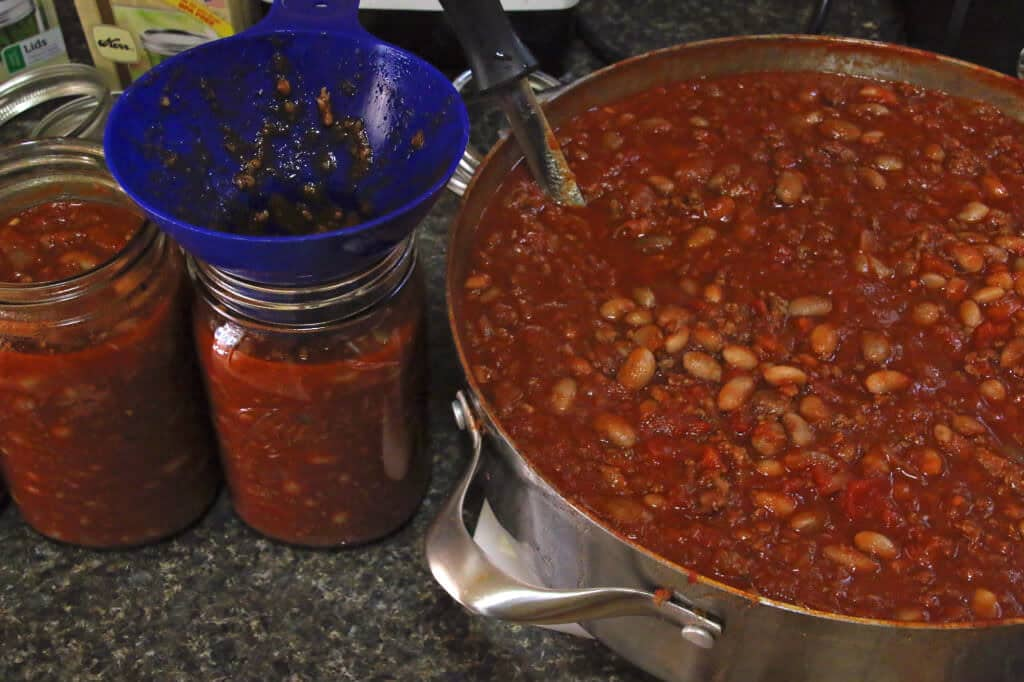 pressure canner chili con carne recipe