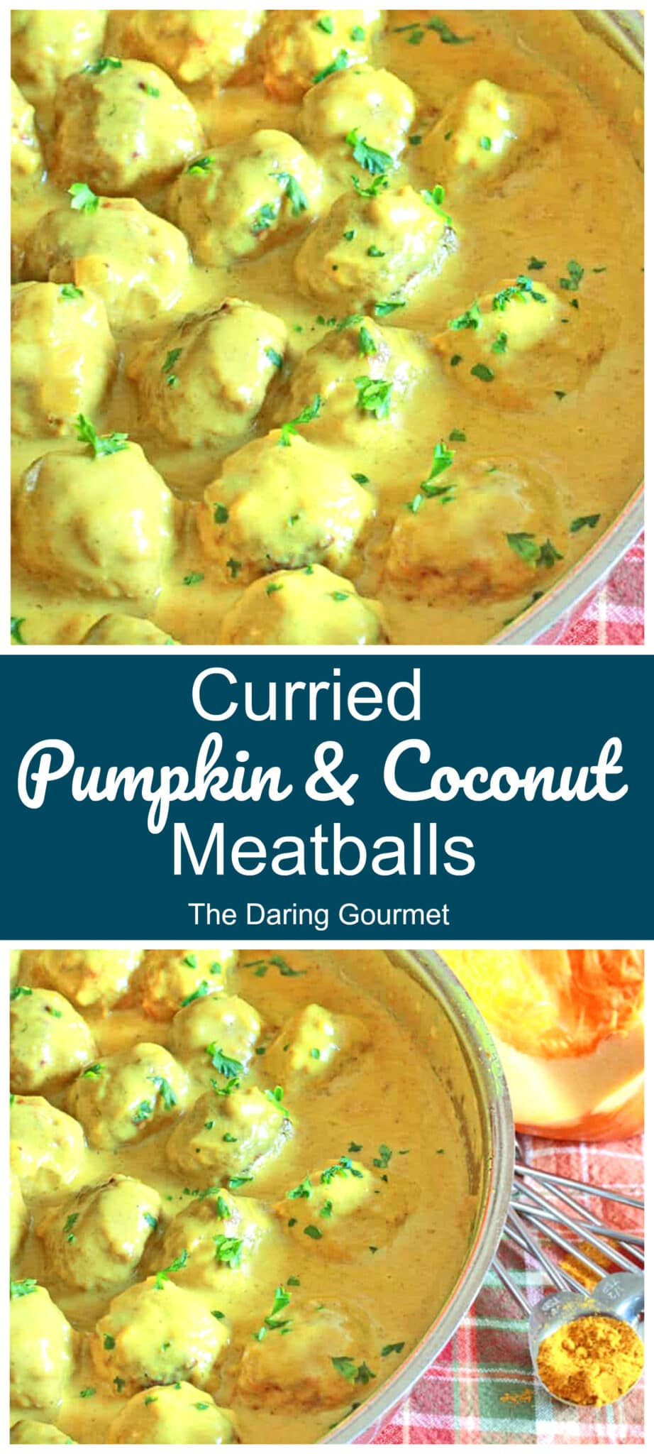 pumpkin meatballs recipe curried coconut