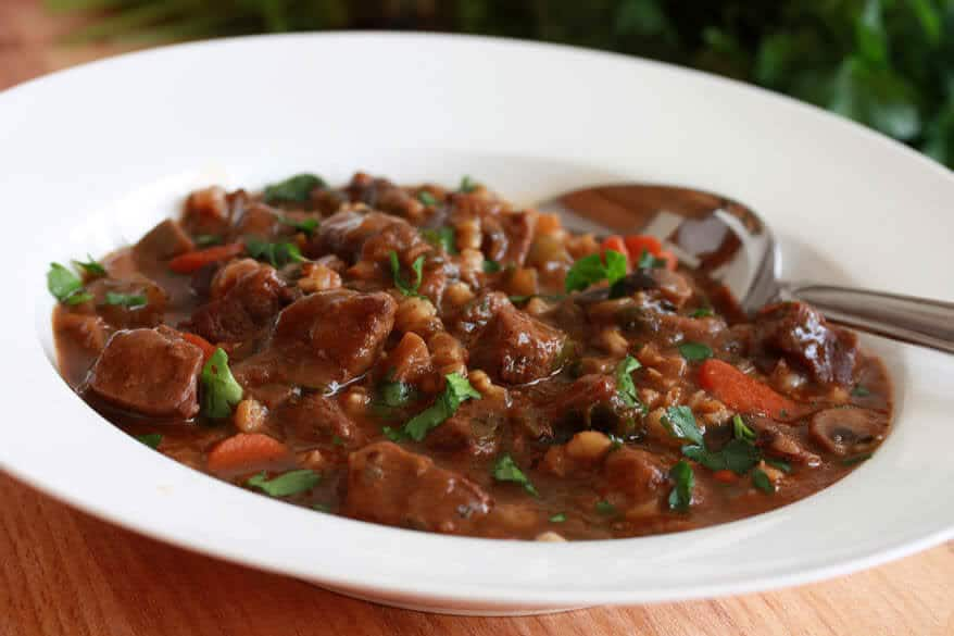 beef barley stew recipe