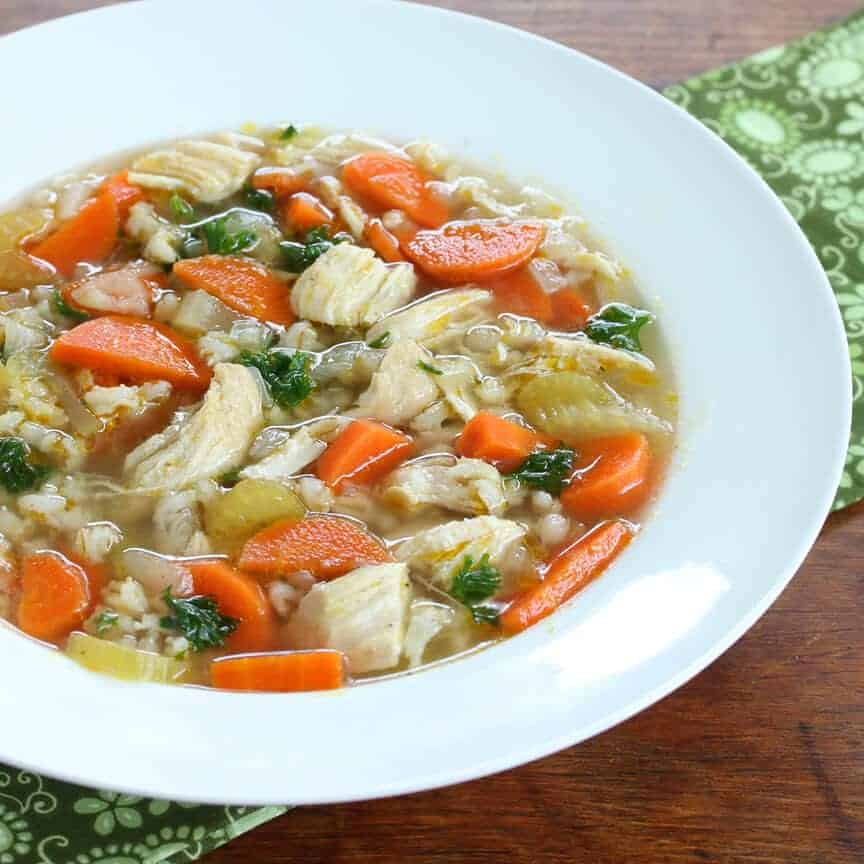 best chicken barley soup recipe