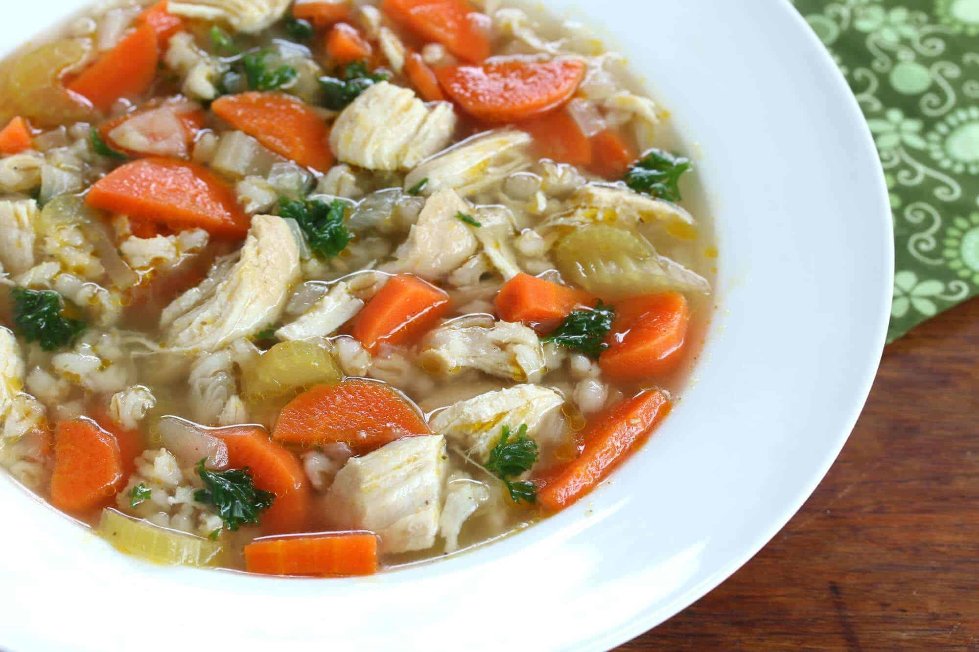 chicken barley soup recipe best healthy easy