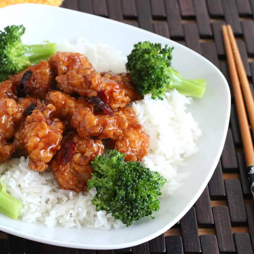 general tso chicken recipe chinese best authentic panda express copycat asian