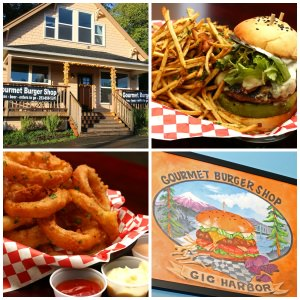 Gourmet Burger Shop, Gig Harbor, WA