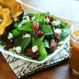 Spiced Pumpkin Vinaigrette