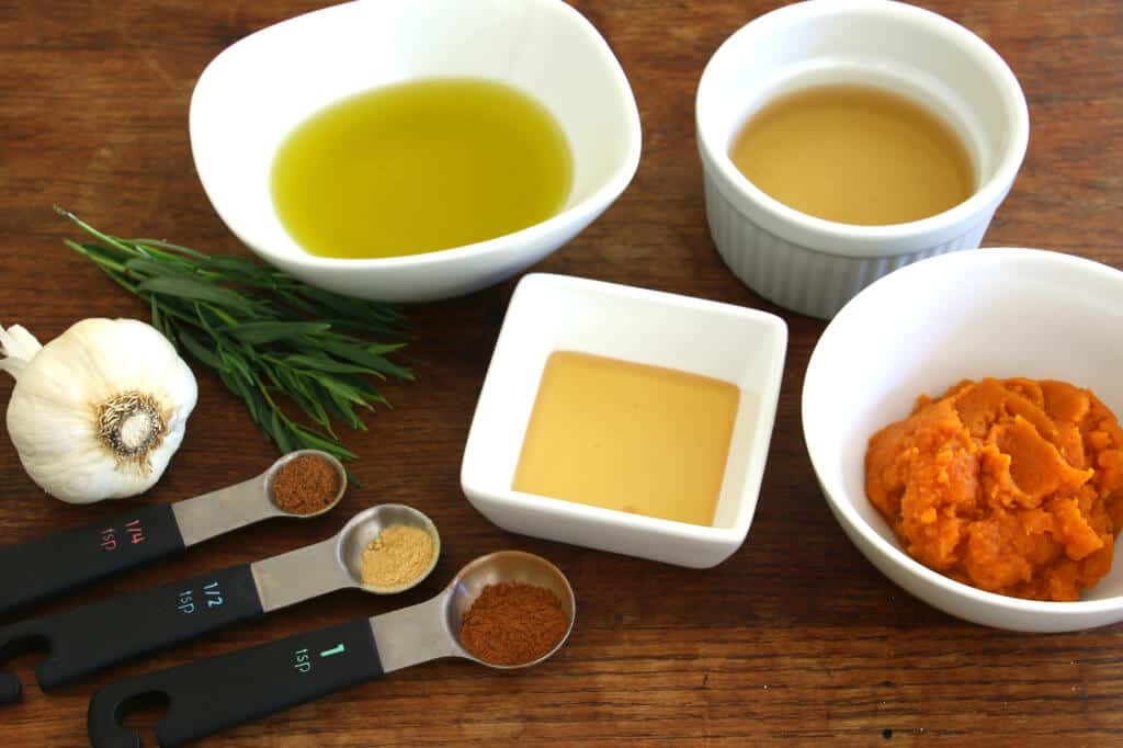 spiced pumpkin vinaigrette dressing recipe