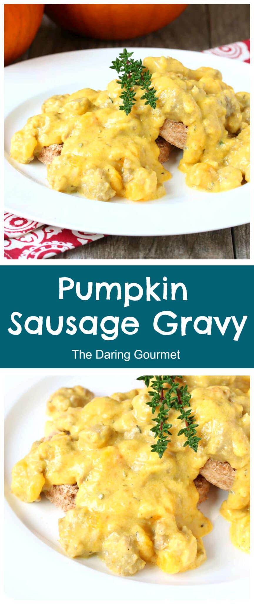 pumpkin sausage gravy recipe biscuits