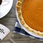 Sweet Potato Sour Cream Pie