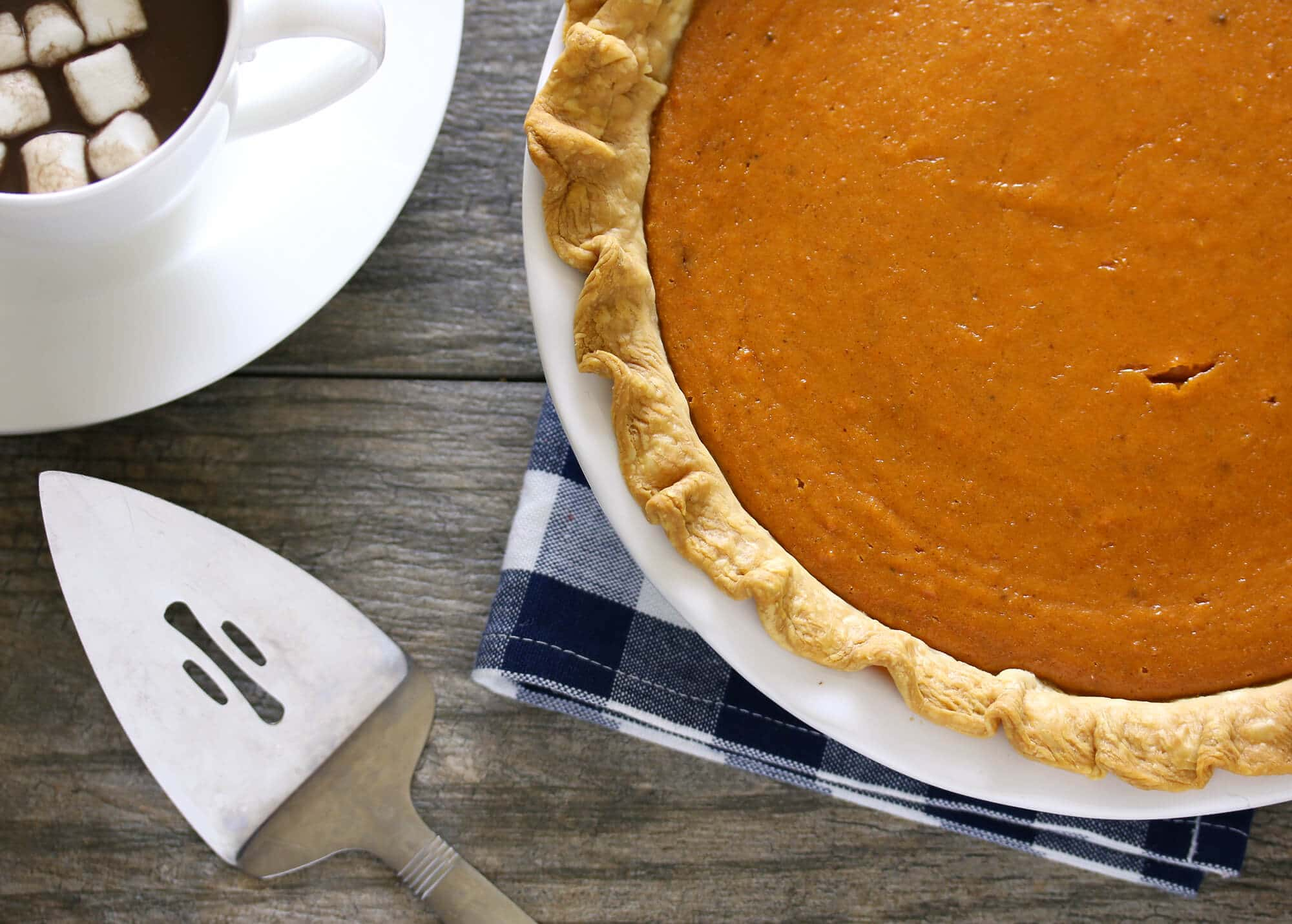Sweet Potato Sour Cream Pie - The Daring Gourmet