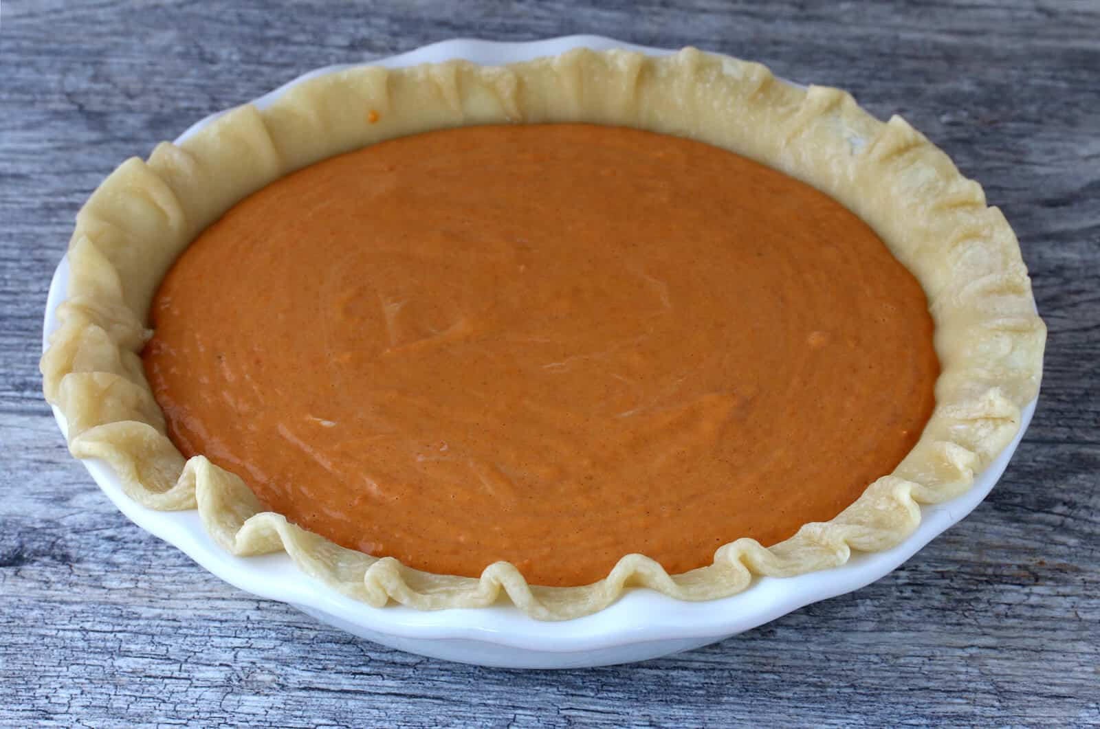 sweet potato sour cream pie recipe from scratch