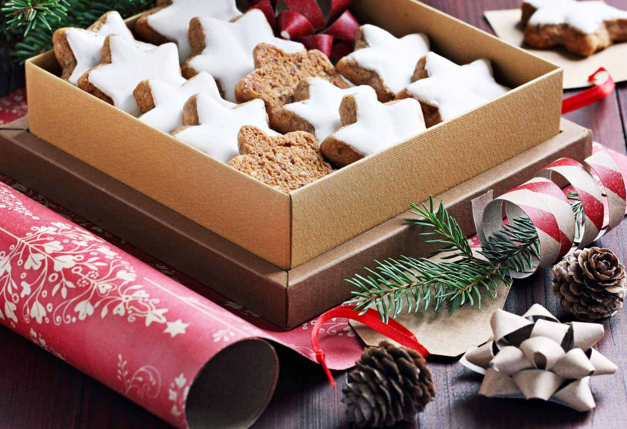 german zimtsterne recipe baking cookies almonds hazelnuts cinnamon star traditional authentic germany christmas holidays