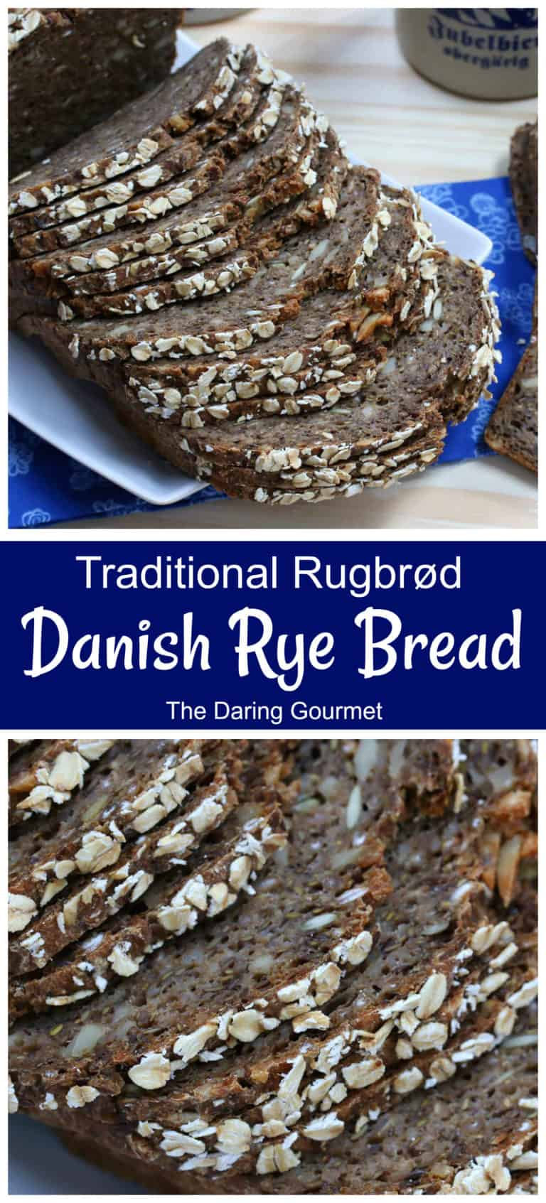 danish rye bread recipe traditional rugbrod authentic sourdough fermented