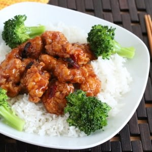 BEST General Tso's Chicken