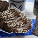 danish rye bread recipe traditional authentic rugbrod